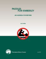 Paddles for Kimberley