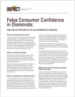 False Consumer Confidence in Diamonds