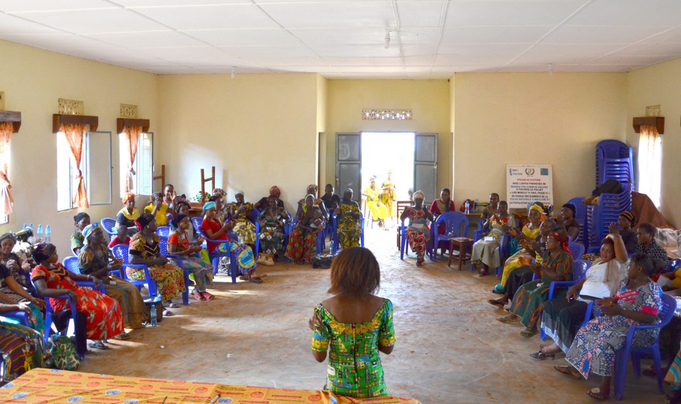 Women in Democratic Republic of Congo Create Network to Empower Women in Mining Communities
