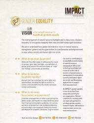 Gender Equality Overview