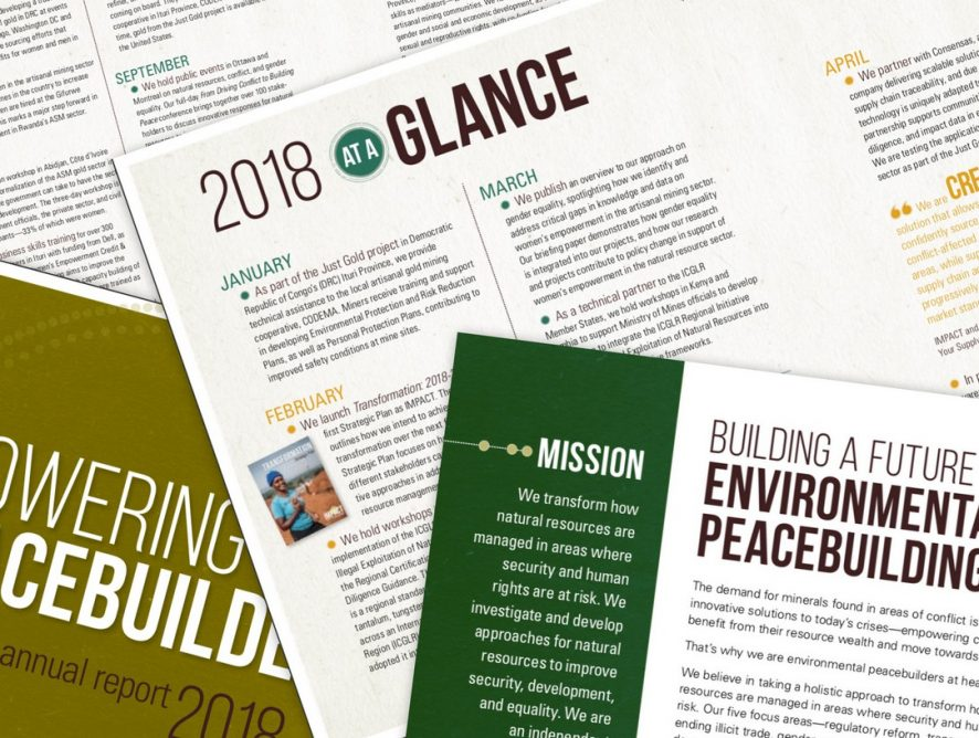 Highlights from 2018 in our New Annual Report!